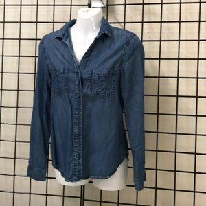 Anthropology cloth & stone denim shirt